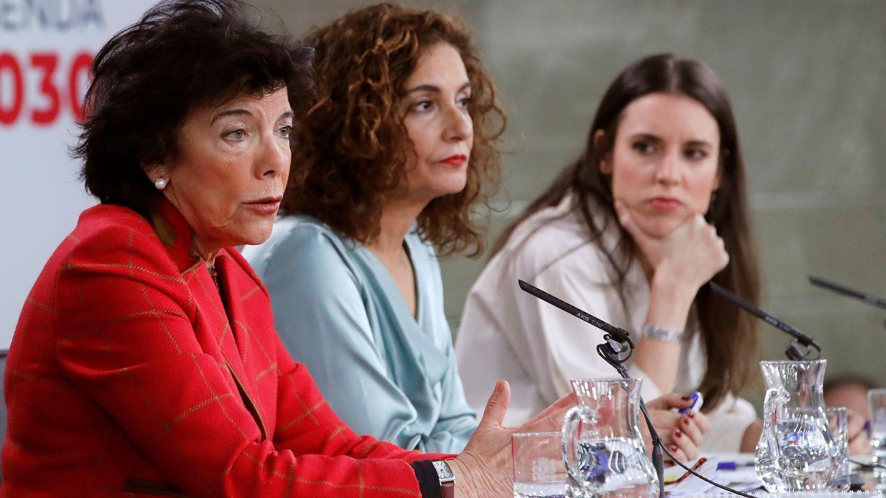 Dolores Delgado, en un acto en Madrid en diciembre del 2019