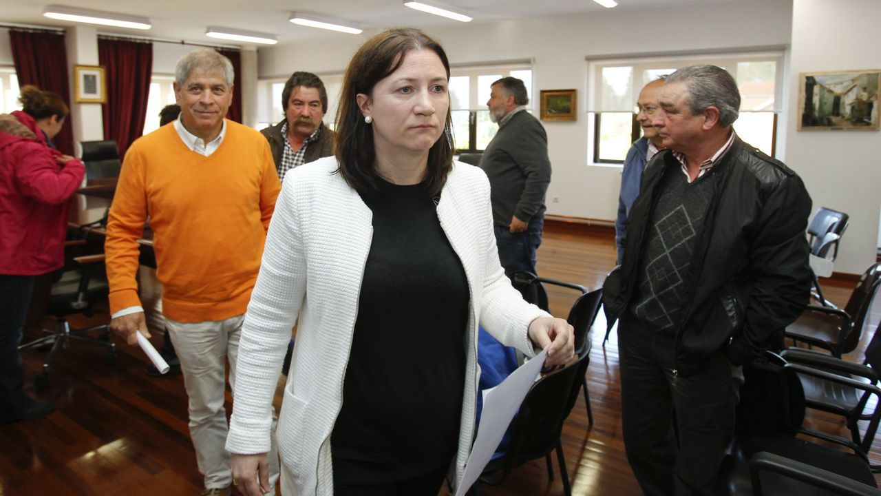 María Jesús Novo, alcaldesa de Boimorto