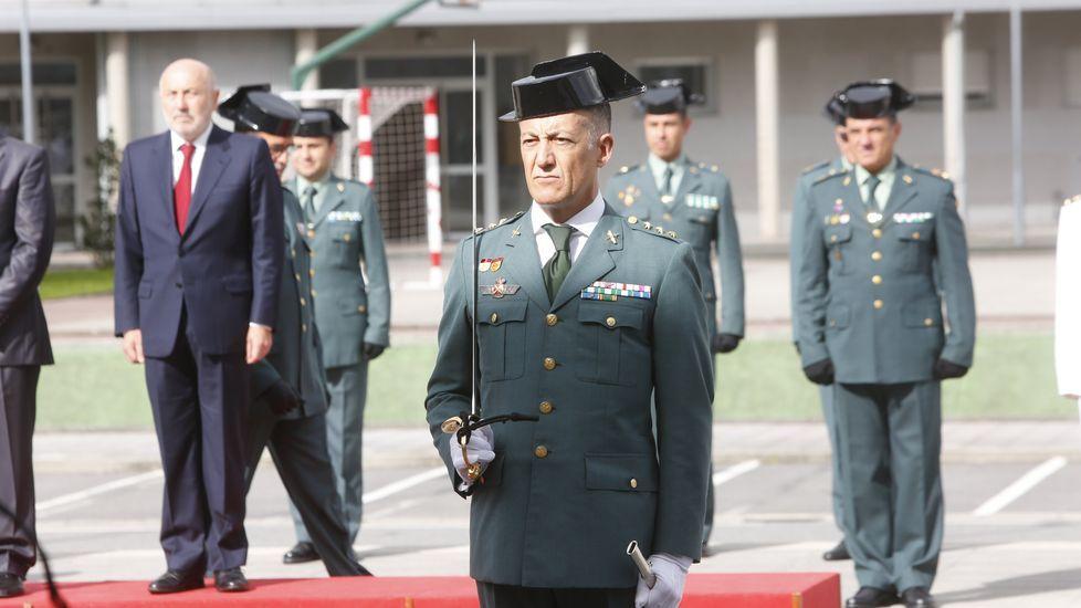 Simón Venzal toma posesión como jefe de la comandancia de la Guardia Civil de Pontevedra