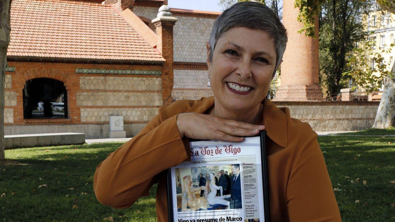 Carlota Álvarez (Vigo, 1964), responsable del Festival Cine por Mujeres, galardonada en el ámbito de la Cultura, Ocio y Deportes