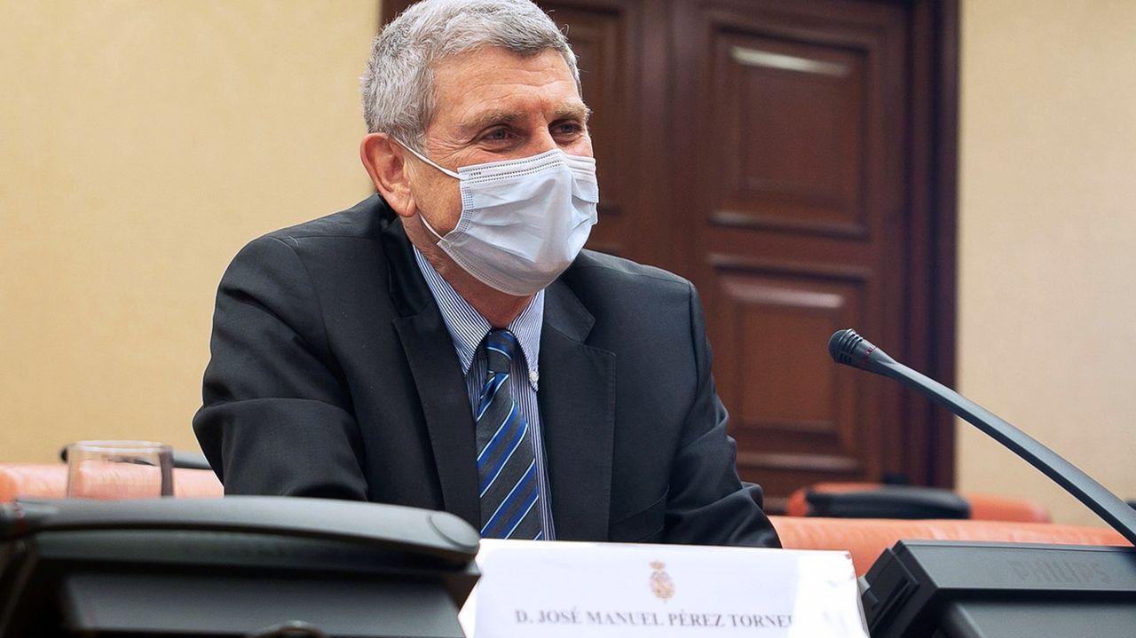 José Manuel Pérez Tornero, elegido para presidir el consejo de RTVE, en una comparecencia en el Congreso el pasado 13 de enero