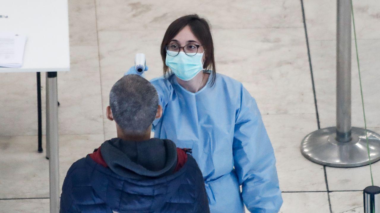 Fachada del Hospital del Basurto, en Bilbao, donde se registró un rebrote de coronavirus