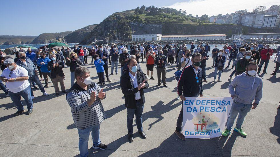 Aficionados a la pesca recreativa piden volver a los puertos: las imágenes.Imagen del encuentro del pasado 7 de marzo