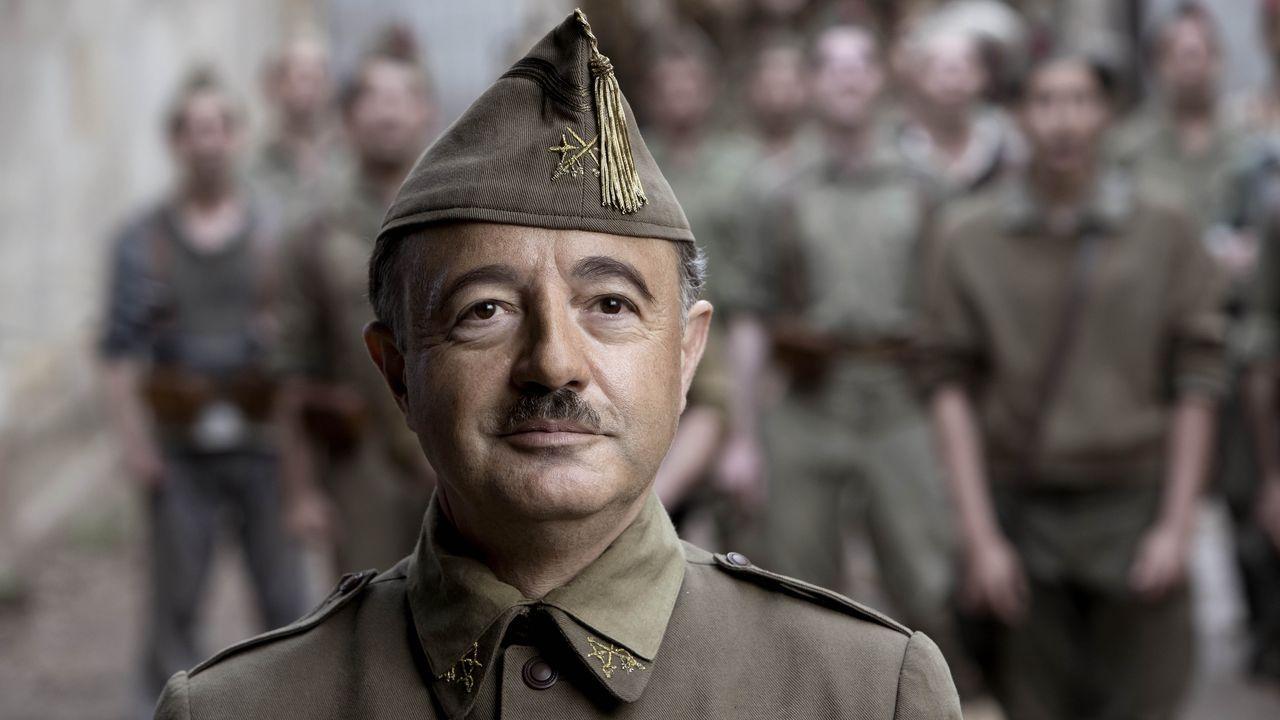 Un gallego da vida a Franco en la próxima película de Amenábar.El exnuncio del Vaticano en España, Renzo Fratini