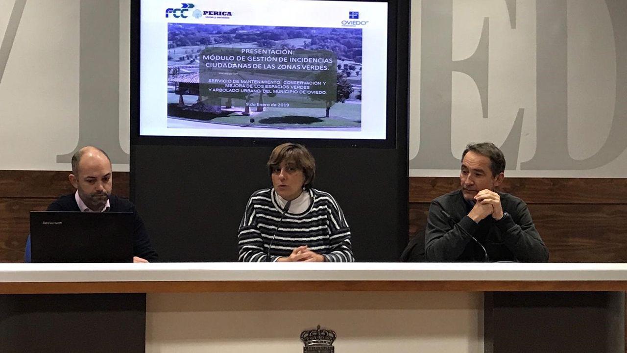Presentación de la APP para denunciar defectos en las zonas verdes
