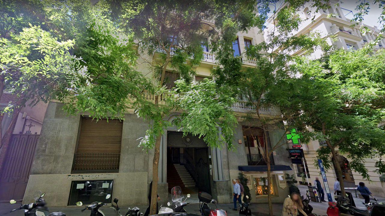 Edificio de la calle Ayala número 10 de Madrid, que fue sede de la Compañía General de Lanas, una tapadera de los espías nazis durante la Segunda Guerra Mundial. Karl Arnold tenía su despacho en este domicilio