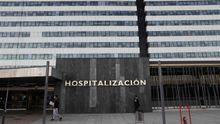 Vista de la zona de hospitalización del Hospital Universitario Central de Asturias (HUCA)