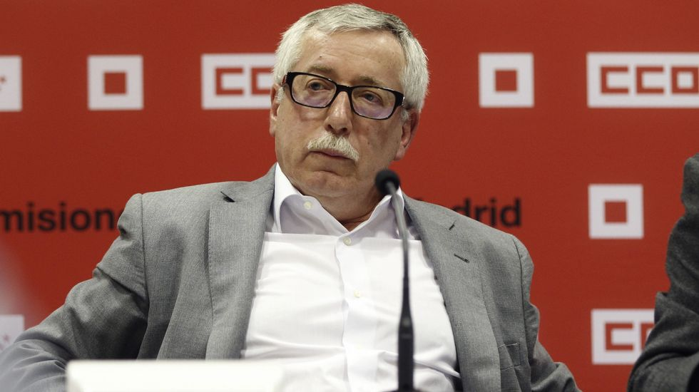 Fernández Toxo no optará a la reelección en CC. OO..Francisco Álvarez-Cascos y Rodrigo Rato