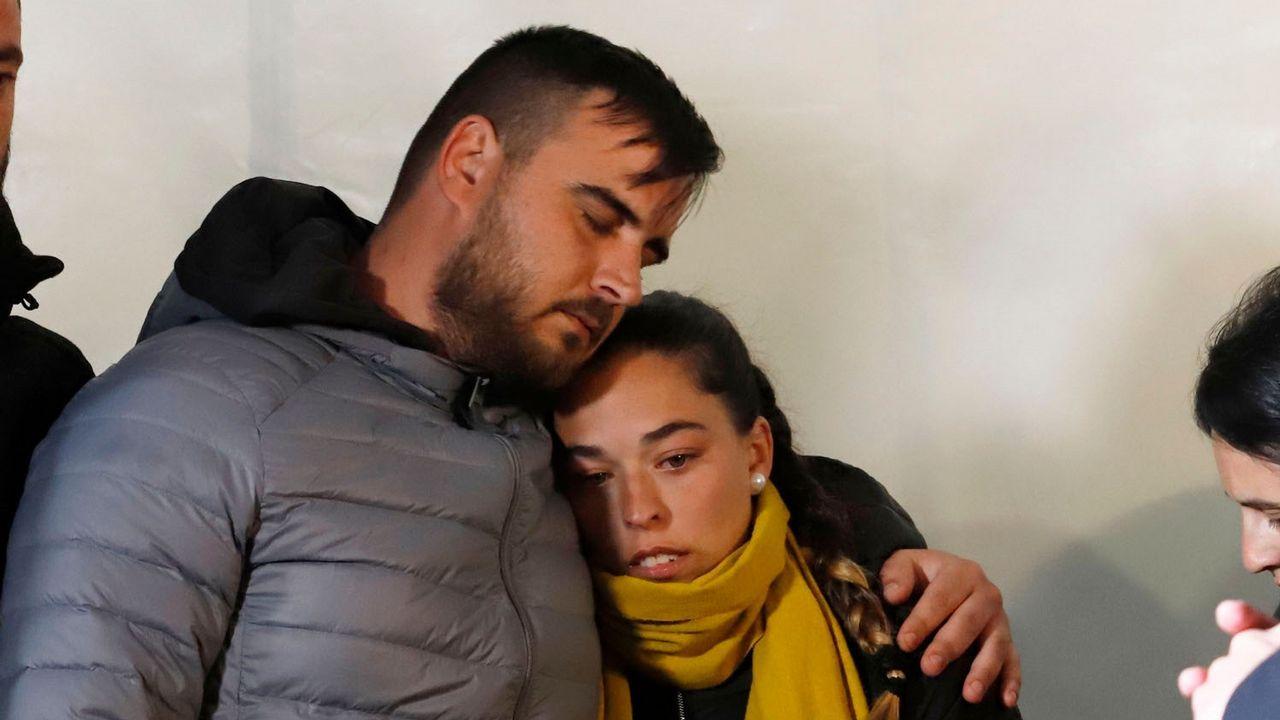 Los padres del pequeño Julen, fallecido tras caer a un pozo en Totalán (Málaga)