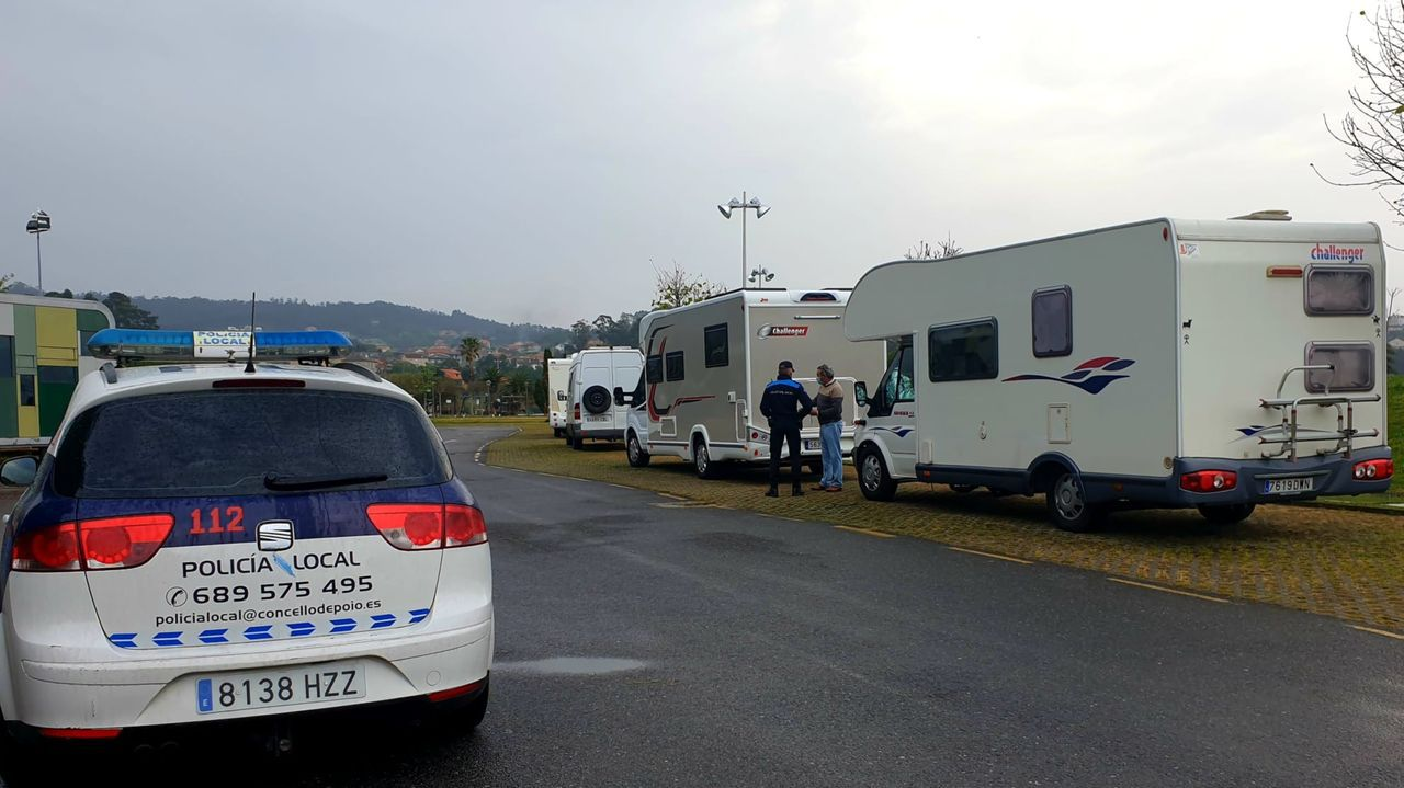 Esta Semana Santa, la Policía Local intensificó la vigilancia sobre autocaravanas