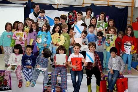 Os alumnos de Cerceda celebraron as Letras Galegas por adiantado<span lang= es-es >. </span>