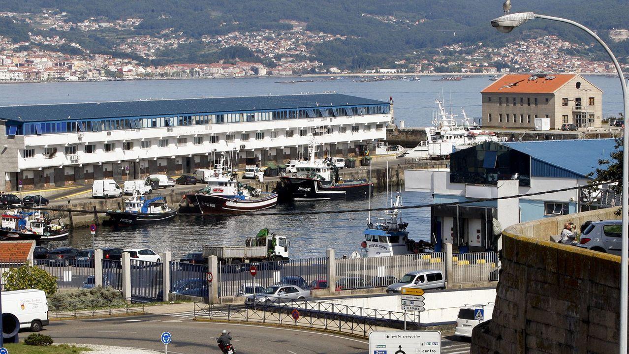 El puerto pesquero de Vigo, en una imagen de archivo, es uno de los gallegos que se beneficiará de la recuperación de los cupos de pesca que la flota no consumió el año pasado