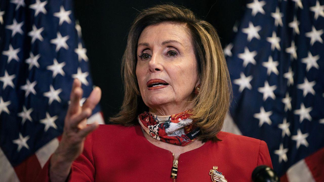 Estados Unidos decide: las imágenes de la jornada electoral.Nancy Pelosi seguirá cuatro años más al frente de la Cámara de Representantes