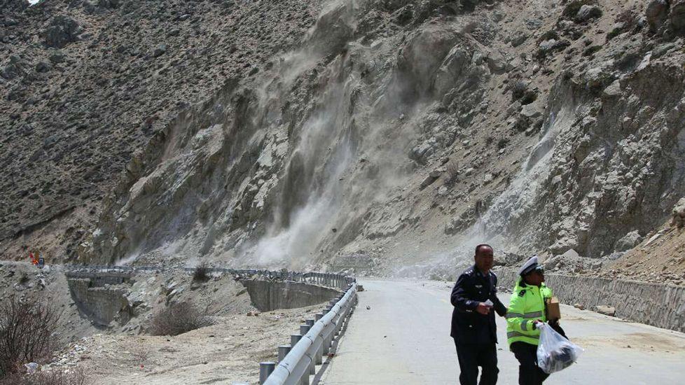 Así tembló la tierra en el Tíbet