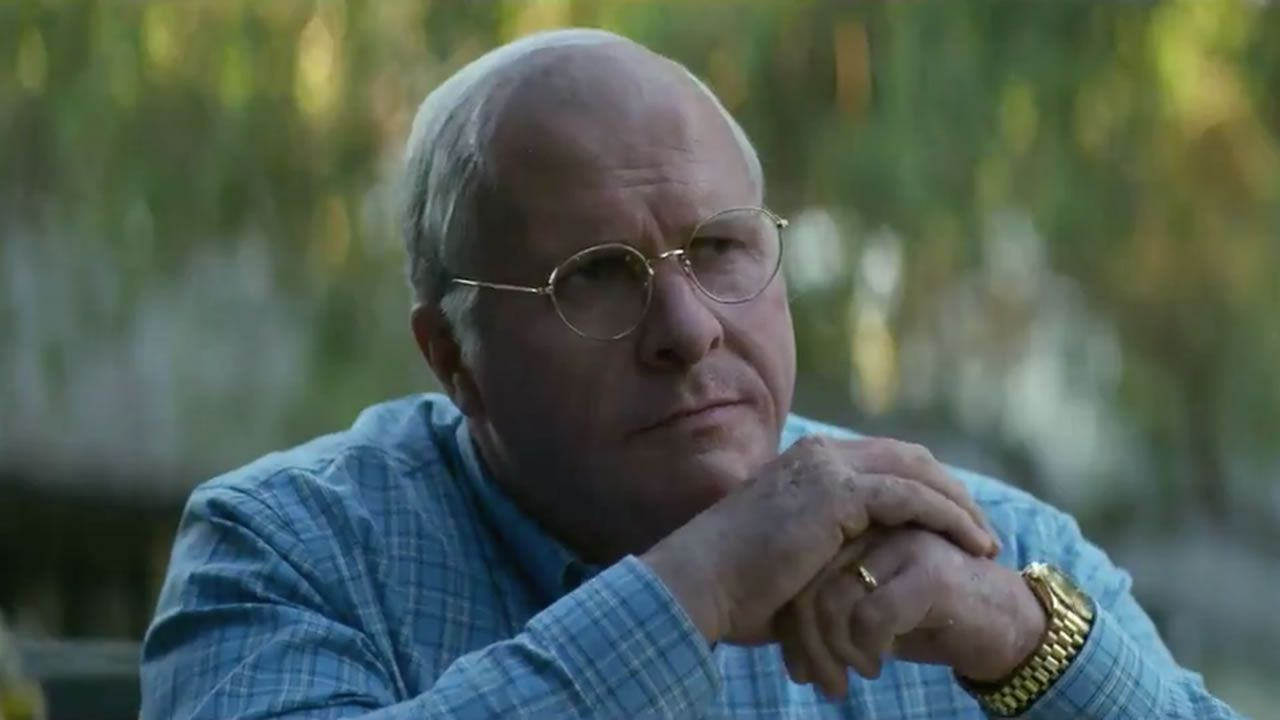 Christian Bale, en «El vicio del poder» («Vice»)