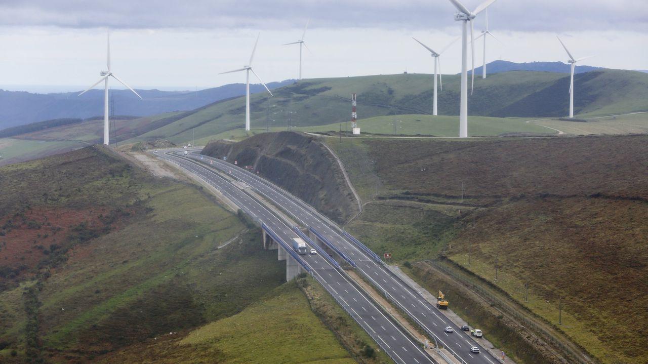 Autovía del Cantábrico en Galicia