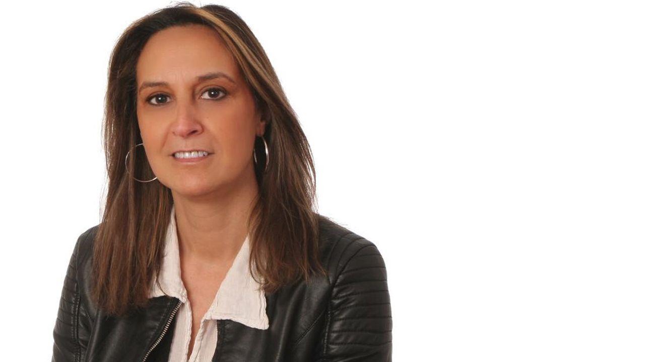 La marcha de Vesuvius.La nueva consejera de Presidencia, Rita Camblor