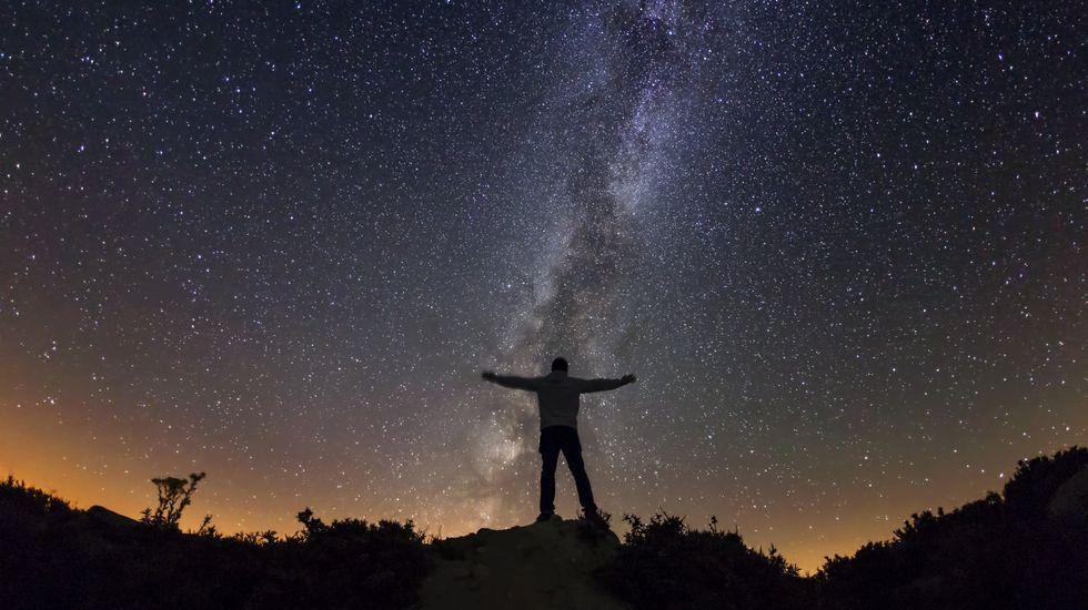 Fuegos artificiales San Mateo 2019.Trevinca se convirtió en 2015 en el primer destino Starlight de turismo astronómico en Galicia