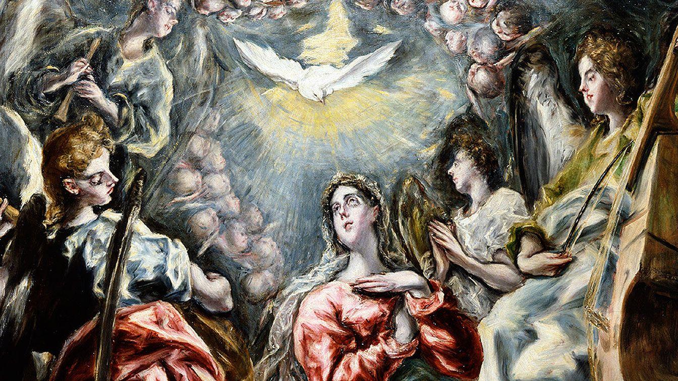 La Inmaculada Concepción (detalle), de El Greco