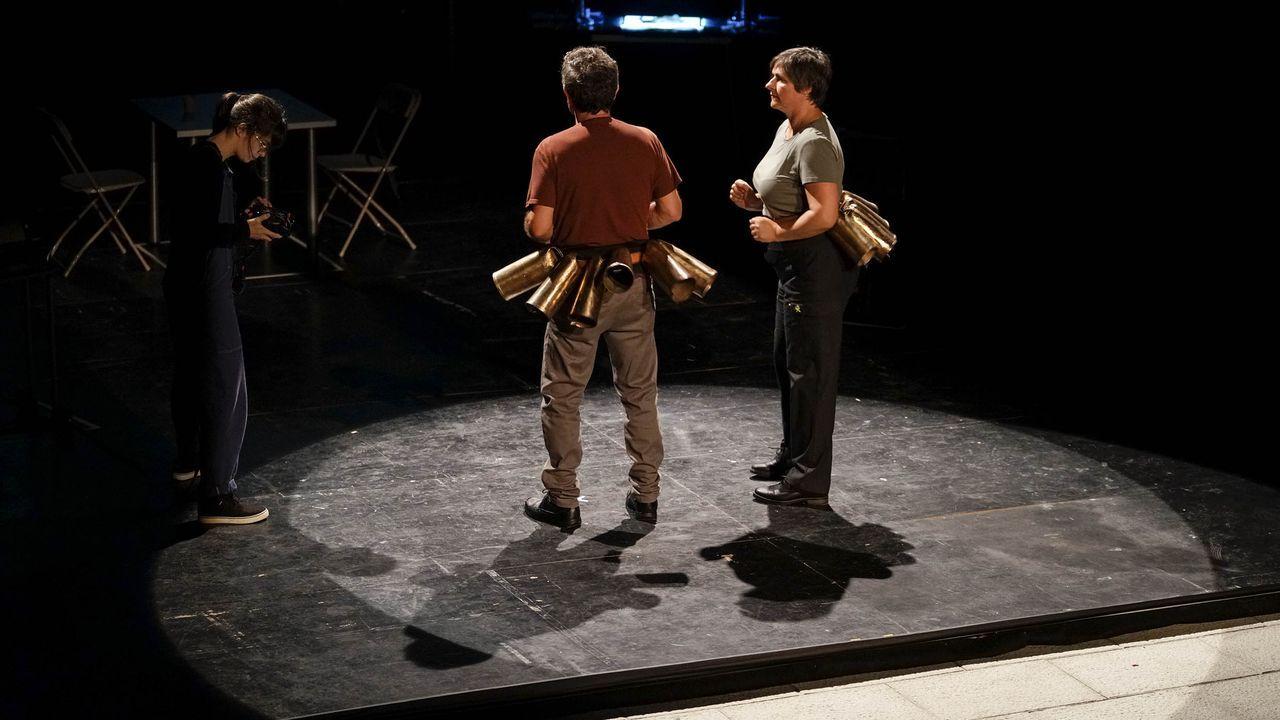 Un momento da representación da obra «Curva España», do grupo Chévere, que se ofrecerá o 10 de decembro