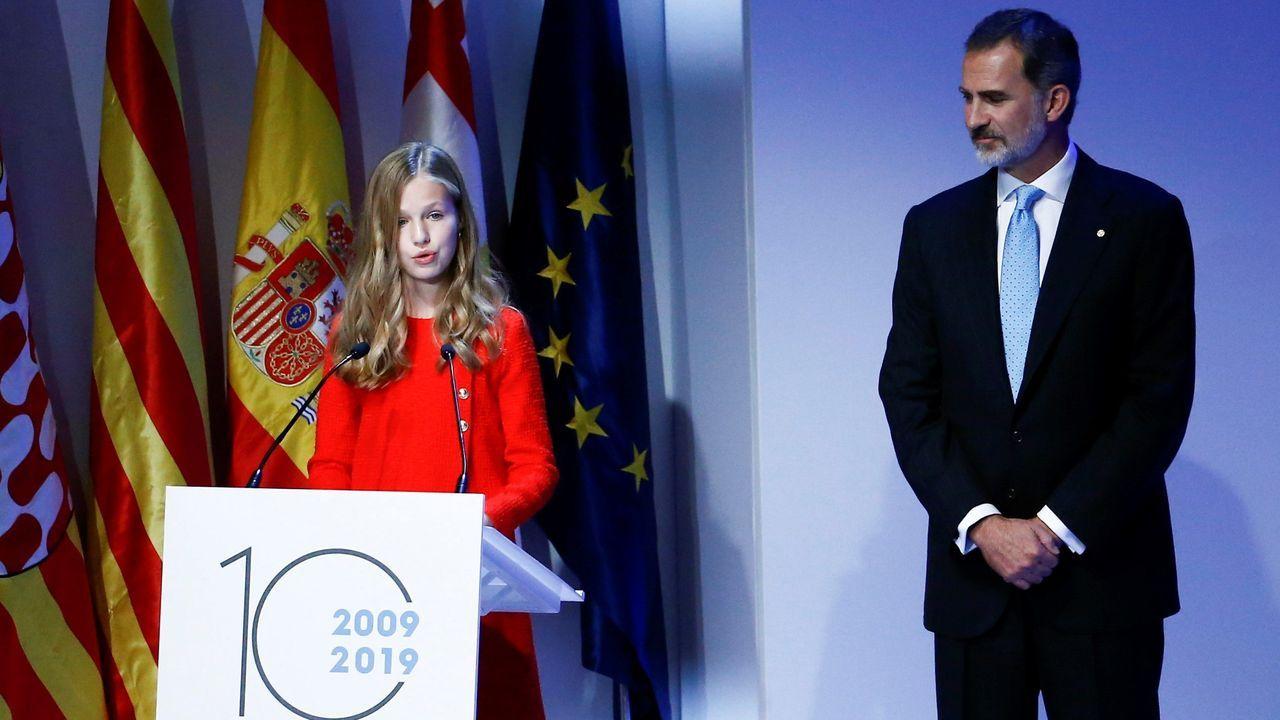 Leonor: «Llevo a Cataluña en el corazón»