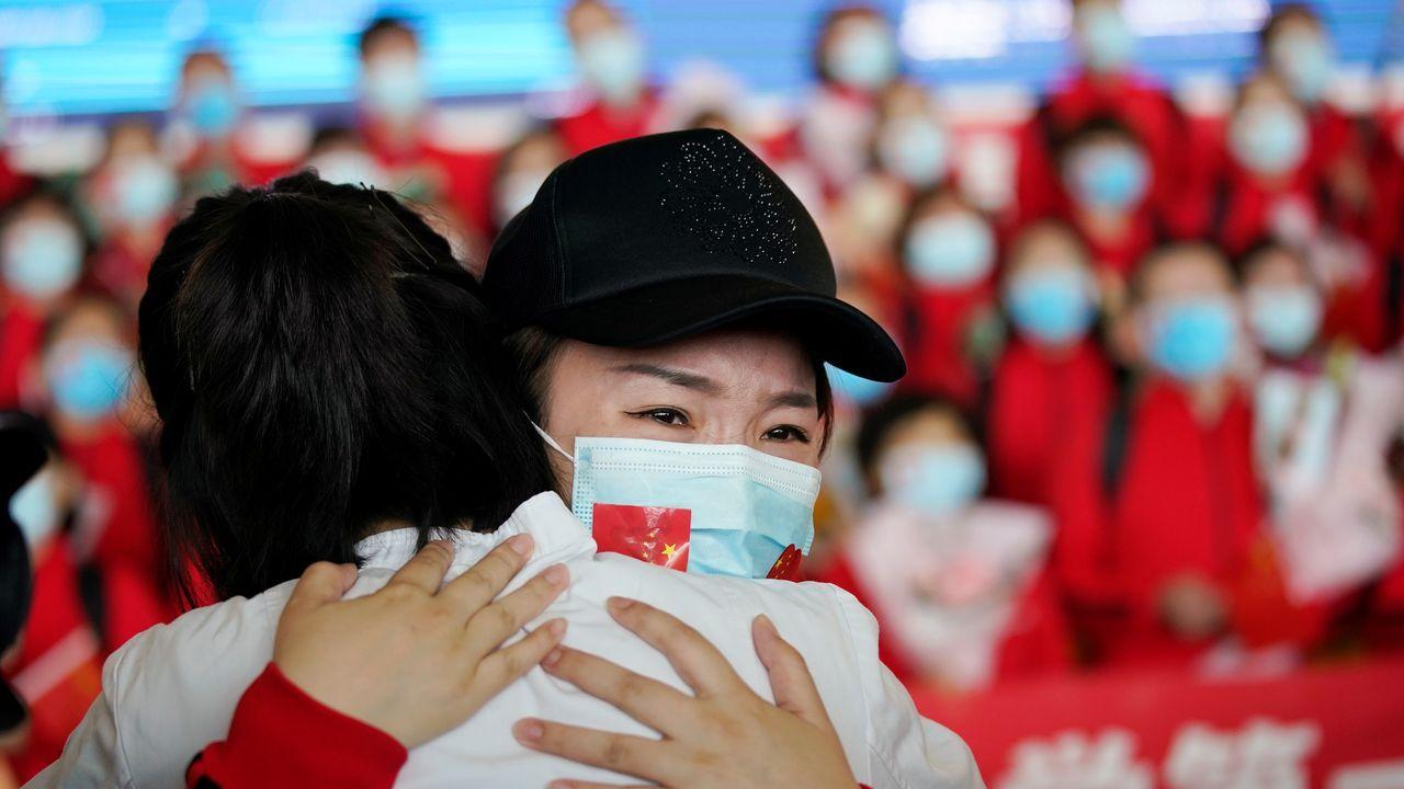 Wuhan recupera la libertad después de 76 días confinada