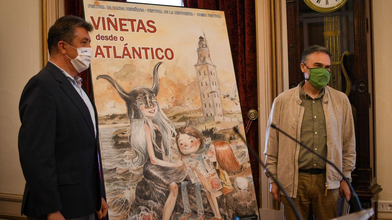 Empieza Viñetas 2020.Xaquín Núñez Sabarís é membro do Grupo de Investigación Valle-Inclán da USC