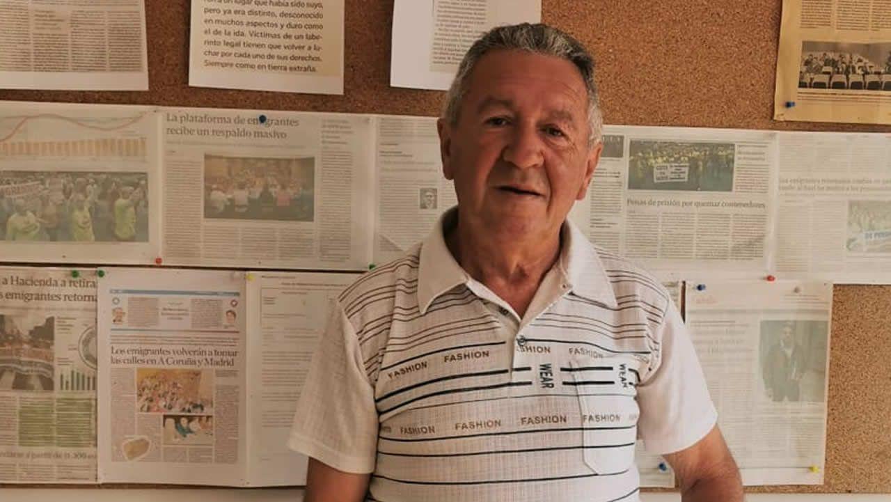 Enrique Calvo trabajó mas de 30 años en Suiza