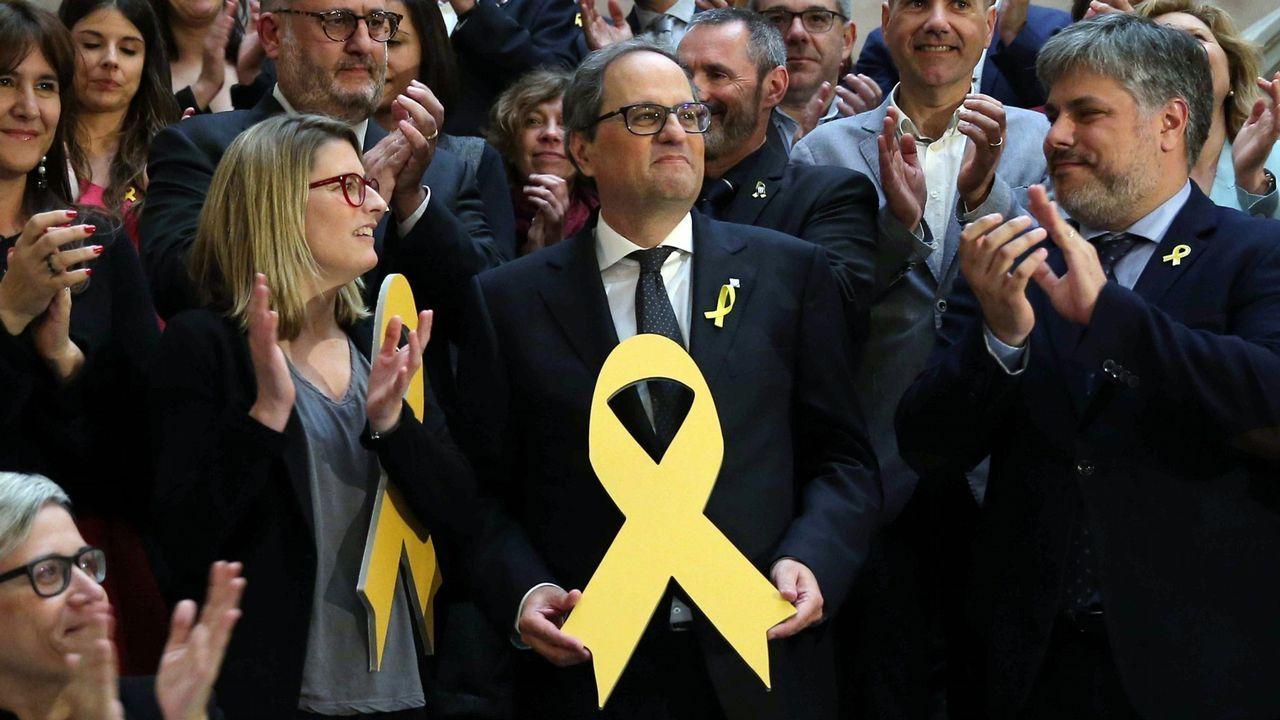 Quim Torra escribió una carta al presidente en funciones, Pedro Sánchez