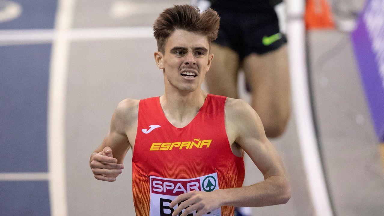 Adrián Ben. En el 2018 dio un gran salto y ya suele ir a Europeos de 1.500, una categoría muy competida.