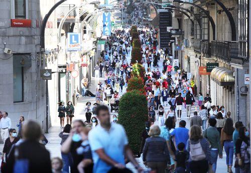 La calle Príncipe de Vigo el pasado jueves