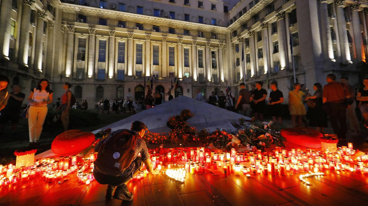 Protestantes en Rumanía piden justicia para la menor asesinada