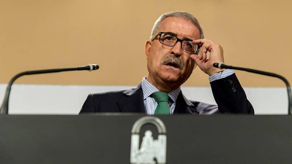 Tiene 72 horas para entrar en la cárcel.El consejero andaluz de la Presidencia, Manuel  Jiménez Barrios.