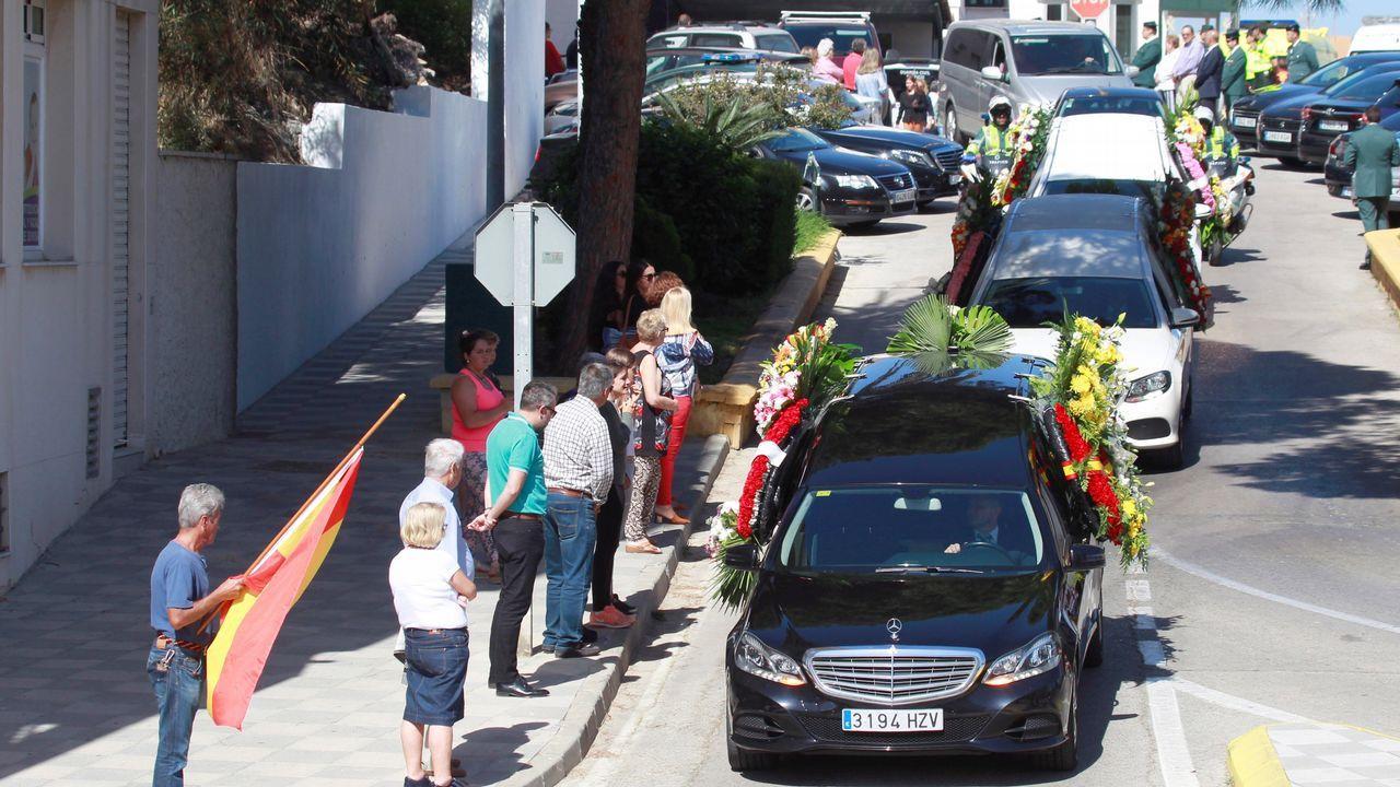 El agente Fermín Cabezas perdió la vida durante la persecución de los narcotraficantes y fue enterrado en Los Barros (Cádiz)