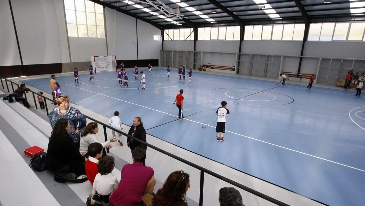 Polideportivo municipal de Oira