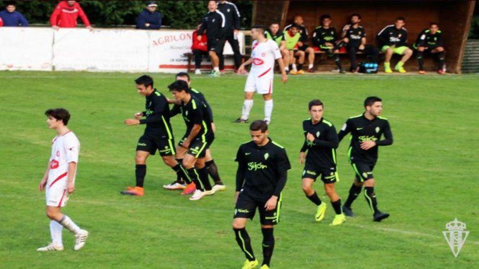 El Deportivo-Sevilla, en fotos.Sporting B