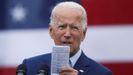 El candidato demócrata a la Casa Blanca, Joe Biden