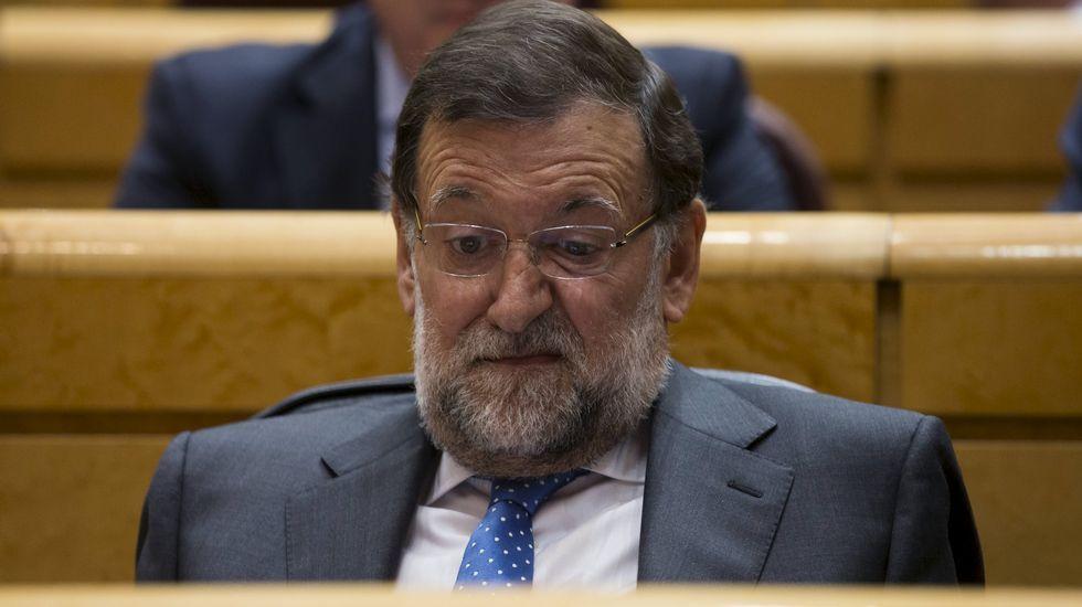 Rajoy insiste en que el PP fue el partido más votado el 24M.Los asistentes a la reunión de la dirección provincial del PP no fueron especialmente críticos.