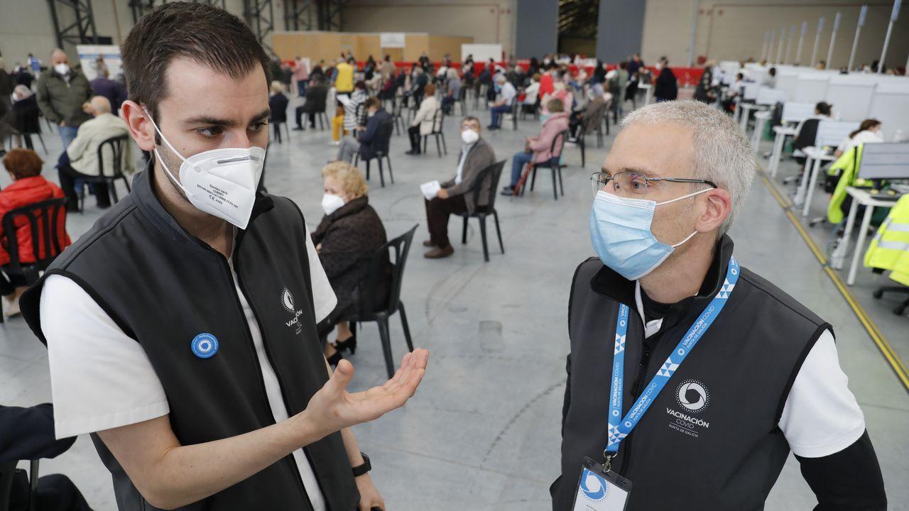 Francisco Represas y Javier Alonso son coordinadores de vacunación