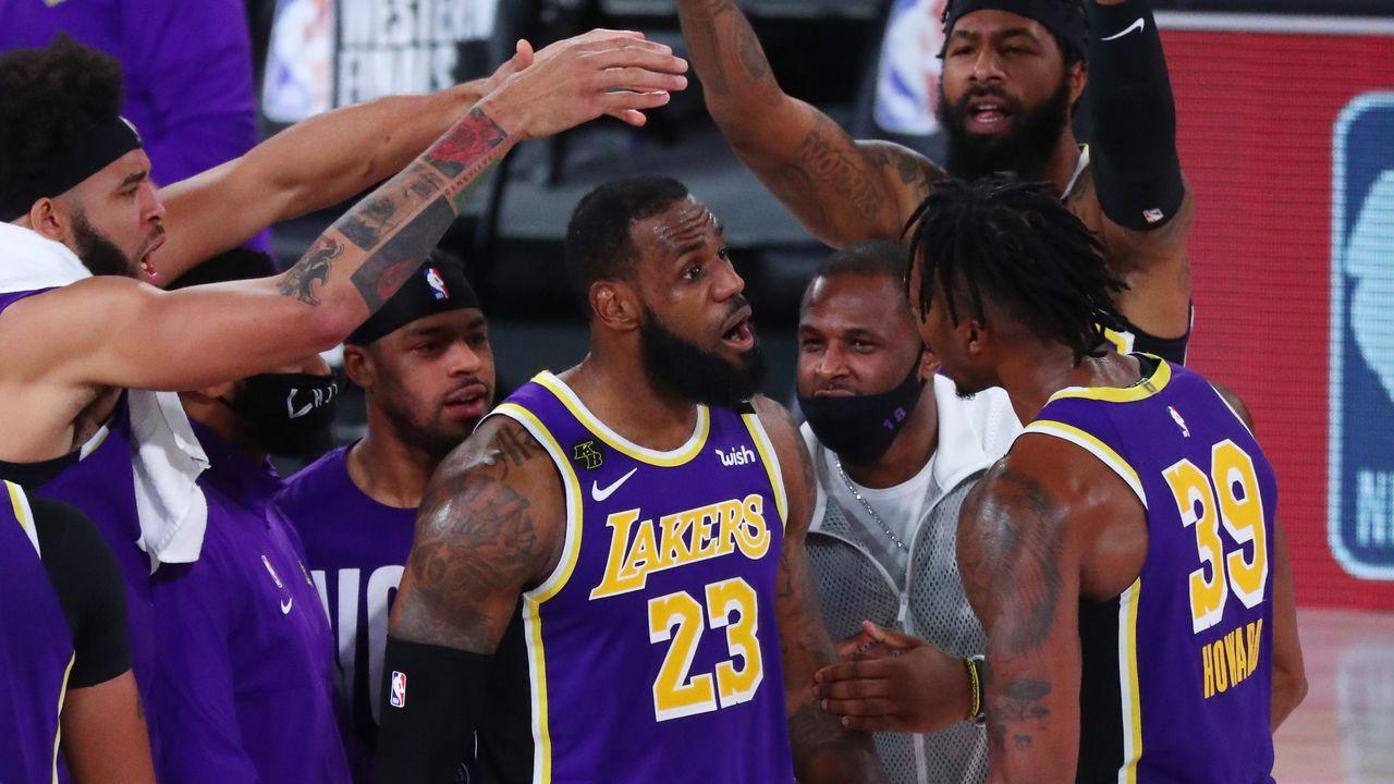 Los Ángeles Lakers ganadores del anillo de la NBA