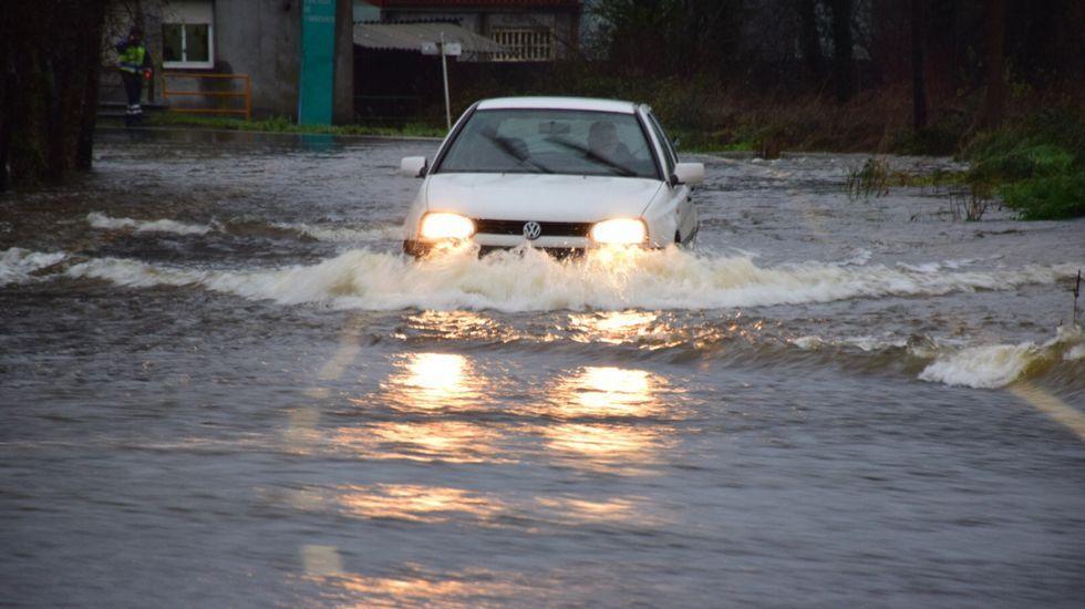 Inundaciones en Coristanco.