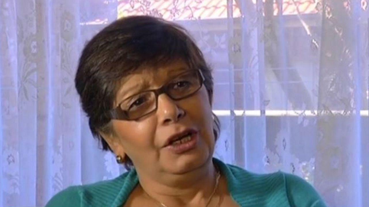 Las imágenes de la exhumación de Franco.Adriana Rivas, durante una entrevista concedida en el 2013 a la radio SBS Spanish