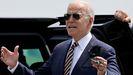 Joe Biden, presidente de EE.UU, durante una visita en el día de hoy en Allentown, Pensilvania