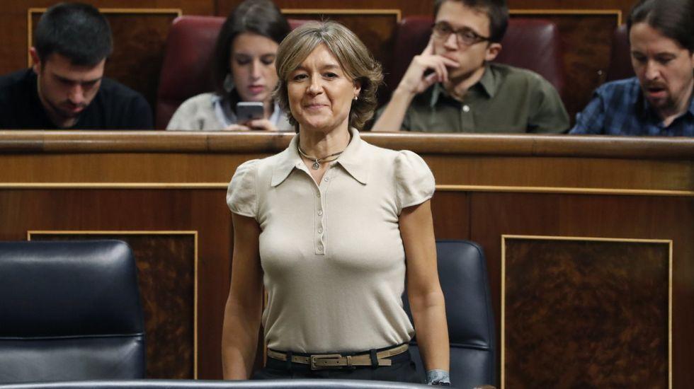 Isabel García Tejerina, ministra de Agricultura, Pesca y Alimentación y Medio Ambiente.