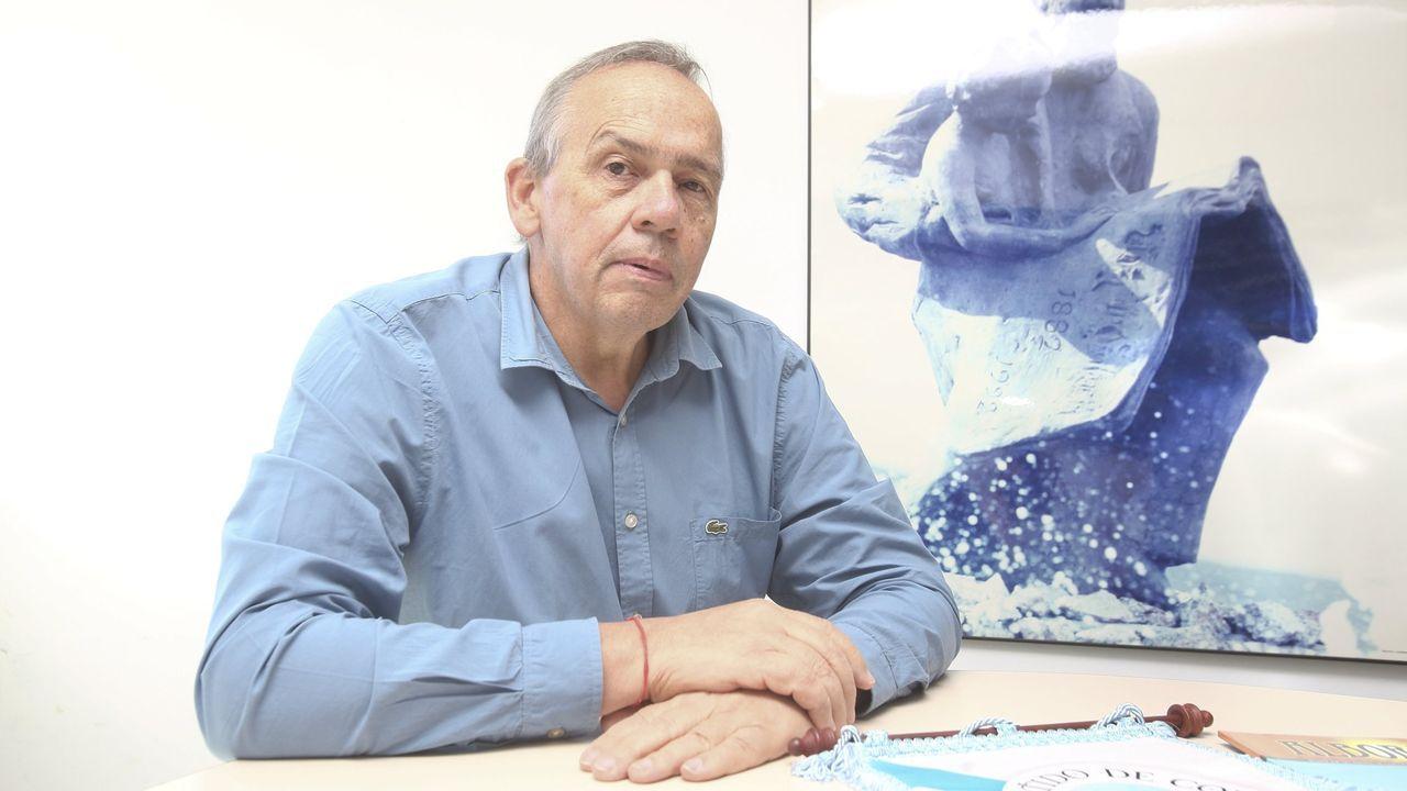 Carlos Óscar Ameijeiras, presidente de la entidad