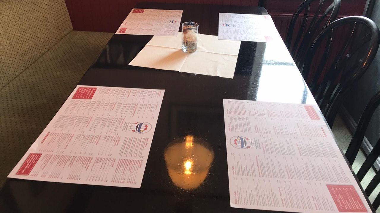 En el restaurante Lotsenhus, la carta es el mantel