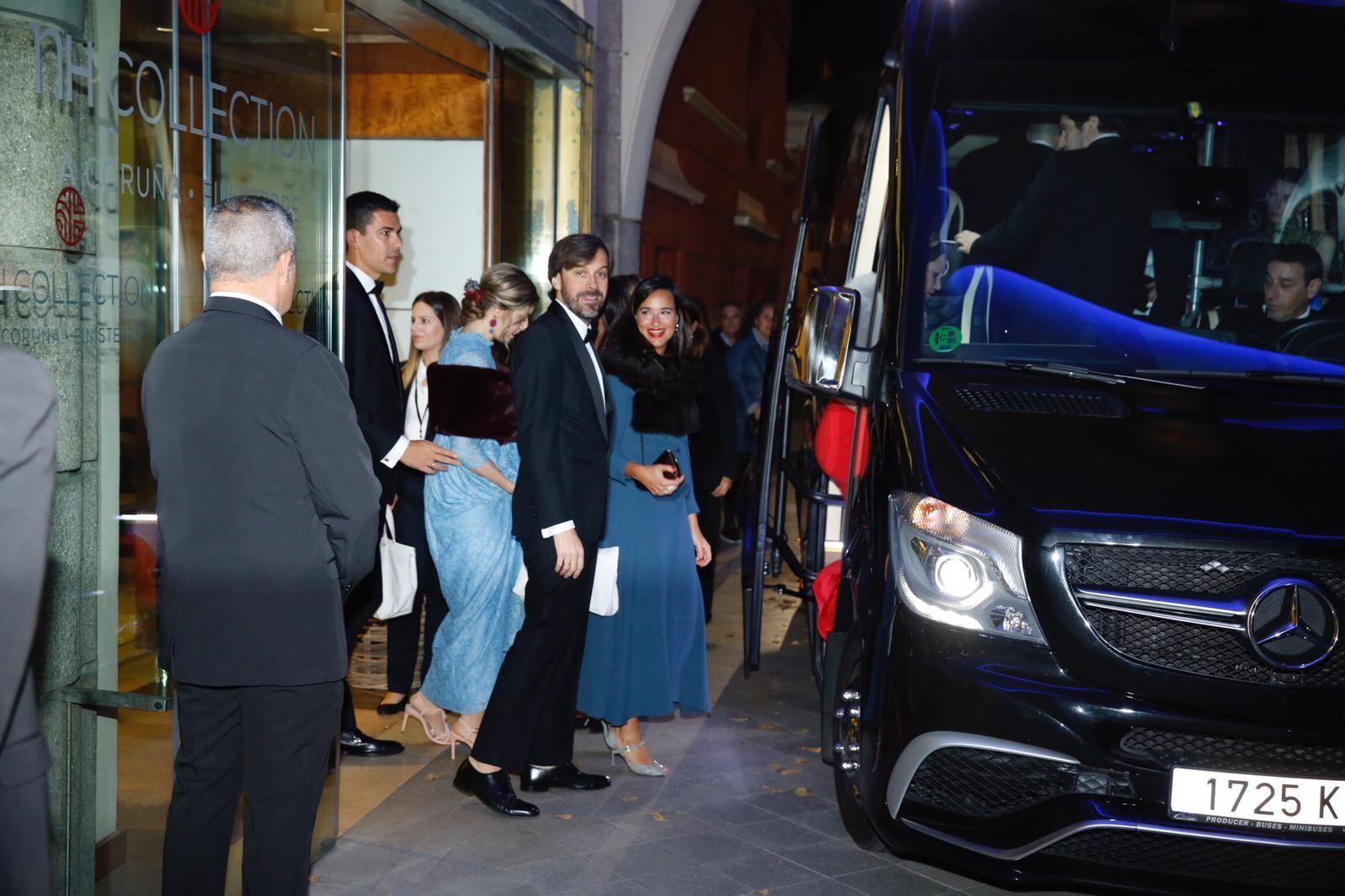 Rosauro Varo, en el Hotel Finisterre