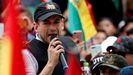 El líder cívico boliviano Luis Fernando Camacho