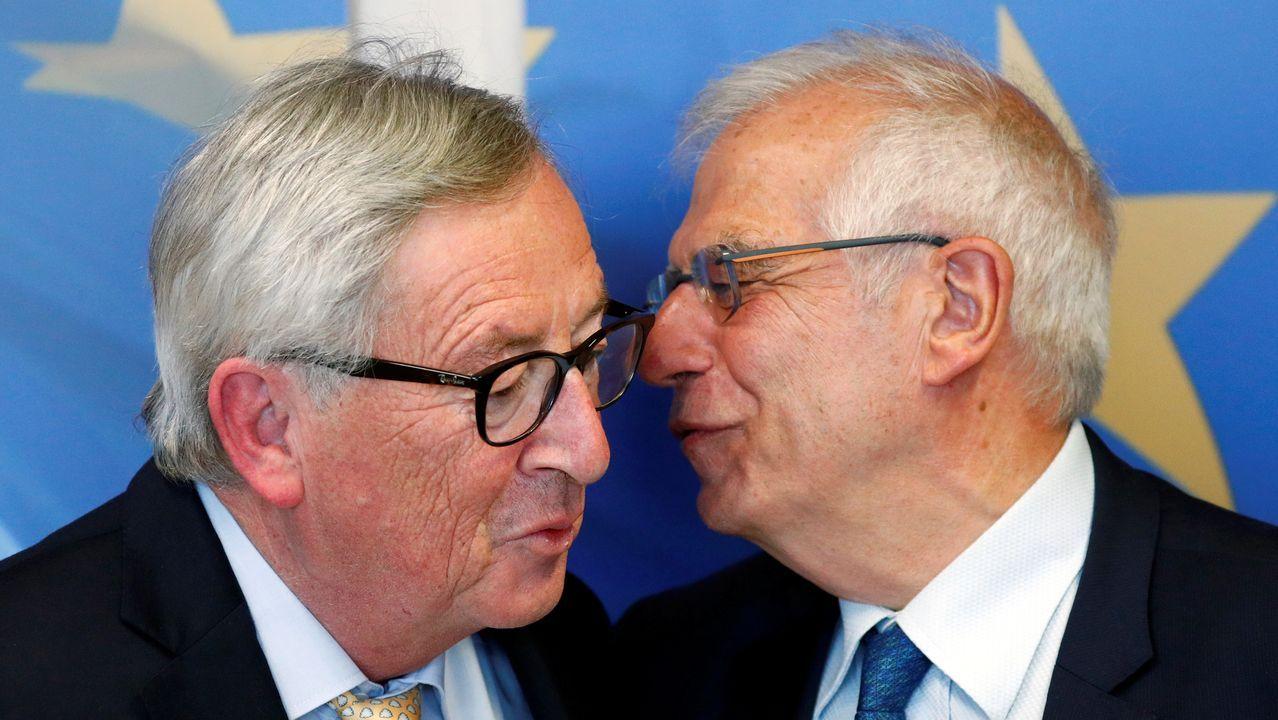 Borrell con Juncker, el miércoles en Bruselas