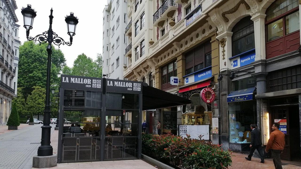 Confitería «La Mallor» en Oviedo